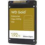 "WD Gold Enterprise-Class SSD WDS192T1D0D - Solid State Drive - 1.92 TB - Internal - 2.5"" - U.2 PCIe 3.1 X4 (NVMe)"