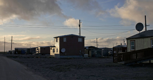 Melting Arctic Ice Makes High-Speed Internet a Reality in a Remote Town - The New York Times