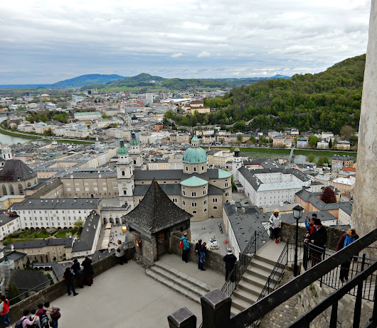 Salzburg and our hostel experience