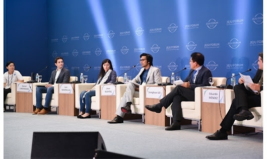 From Pakistan to Korea – Speaking on a UNESCO Panel and attending Global Citizenship Workshop​