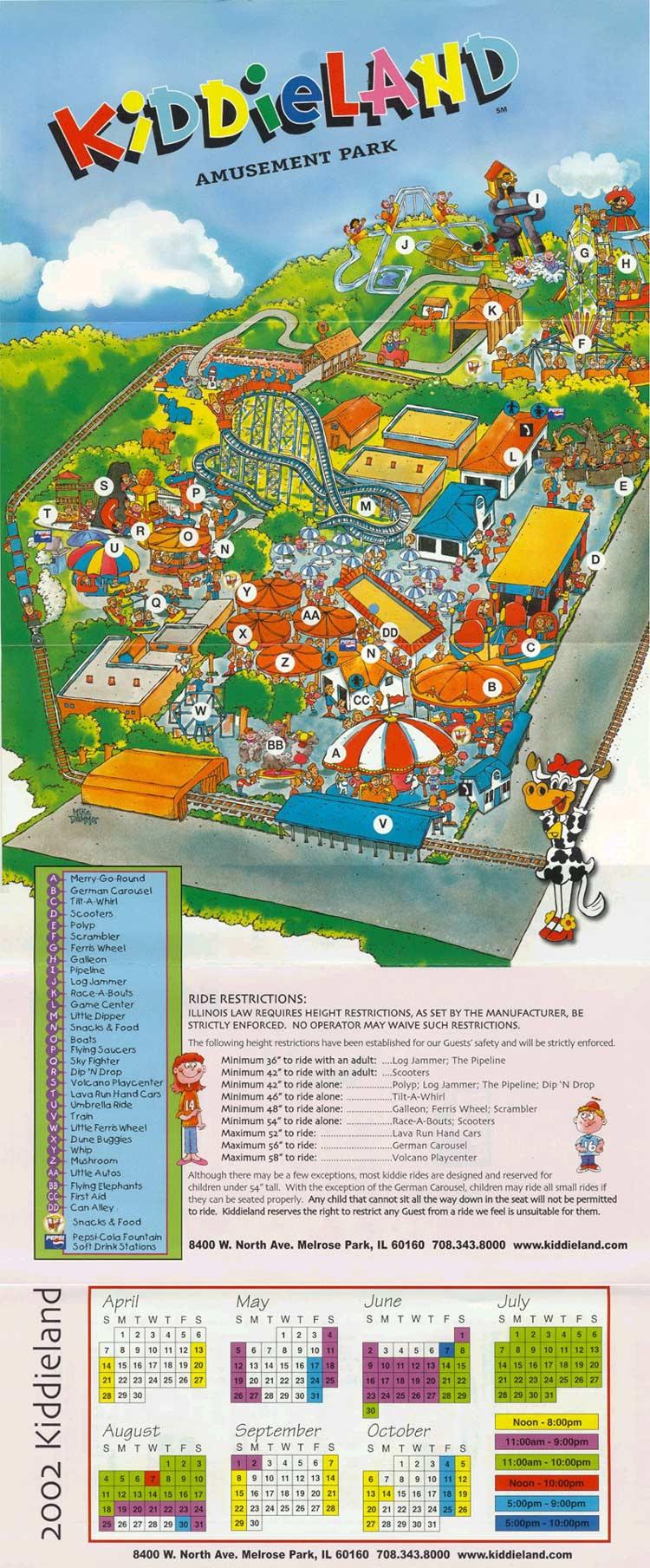 Theme Park Brochures Kid Land Theme Park Brochures
