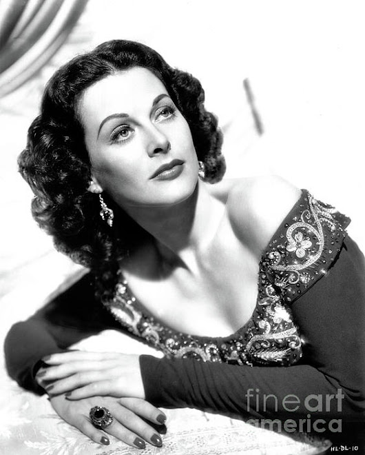 Hedy Lamarr 1940s by Sad Hill - Bizarre Los Angeles Archive