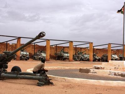Museo de la Resistencia Saharaui, en el campamento de refugiados '27 de Febrero', en Tindouf (Argelia)./PILAR CELI