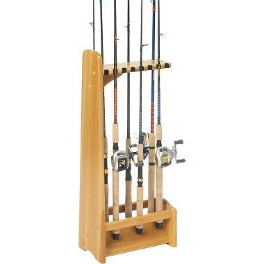 Wood Pro Get Woodworking Projects Fishing Rod Holder
