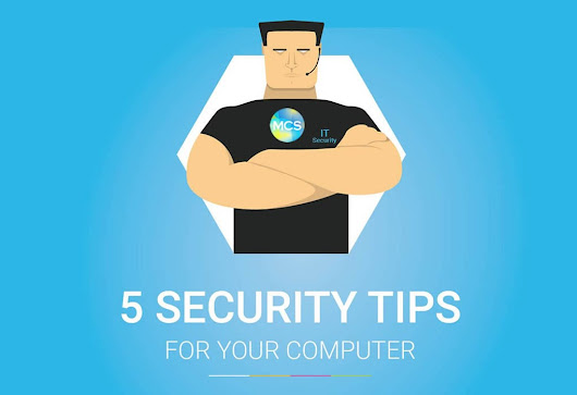 5 Tips to secure your computer - home or office