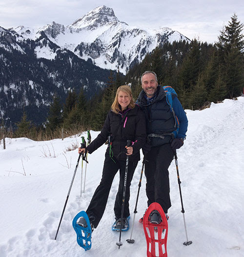 Replenish your energy on a Snowshoe and Yoga retreat in the beautiful Alpine village of Bellevaux in France