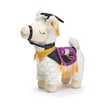 Decor llama graduation plush