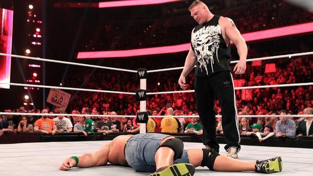 John Cena odnosi się po raz pierwszy do walki z Brockiem Lesnarem, promo starcia na SummerSlam
