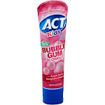 ACT Kids Toothpaste, Anticavity Fluoride, Bubble Gum Blowout - 4.6 oz