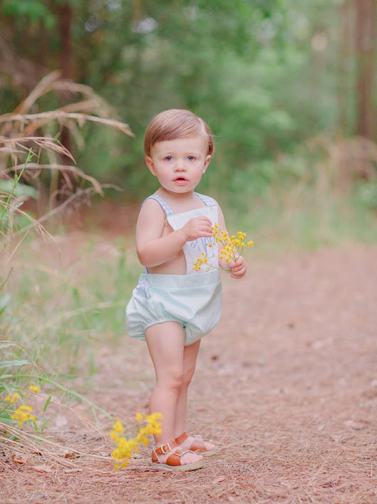 Spring Toddler Photography in Oconee County