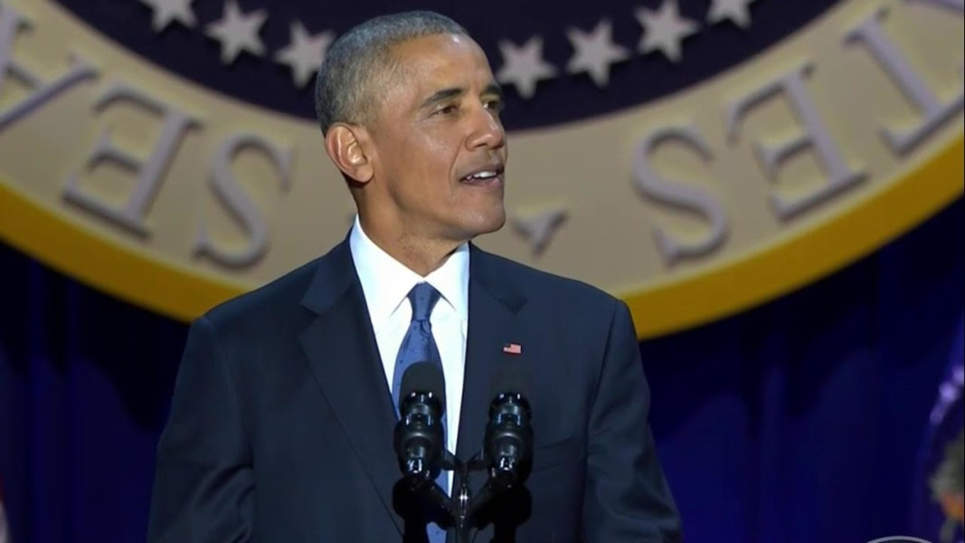 Image result for obama farewell speech 2017