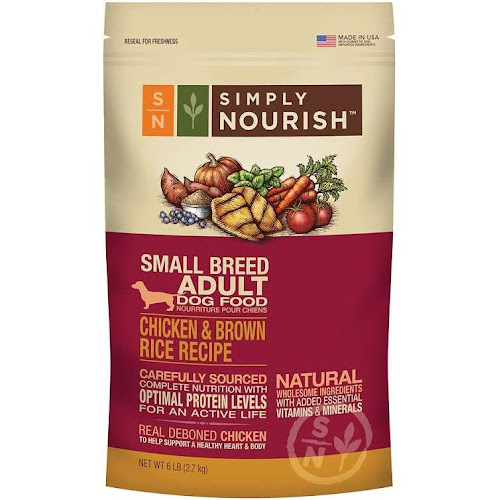 Google express simply nourish small breed adult dog food simply nourish small breed adult dog food natural chicken and brown rice size 6 lb chicken brown rice forumfinder Choice Image
