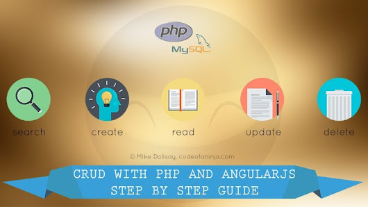 AngularJS CRUD Example with PHP - Step by Step Guide!