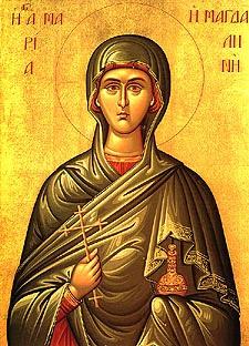 Santa María Magdalena ha escogido la mejor parte. Es patrona y modelo de almas contemplativas