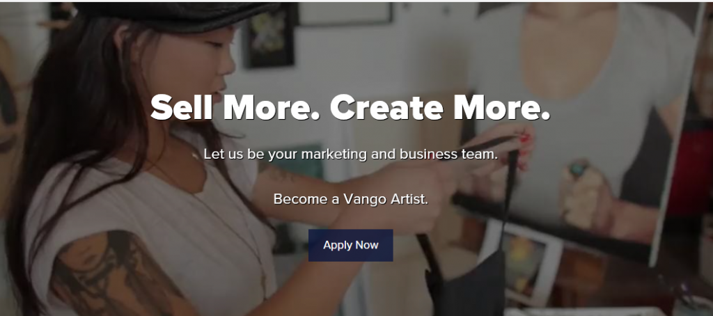 Where to Sell Art Online - Vango