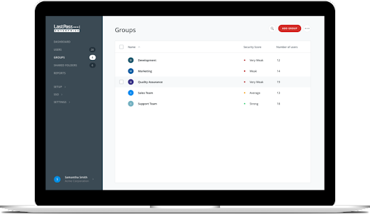 Group Management Updates in LastPass Enterprise