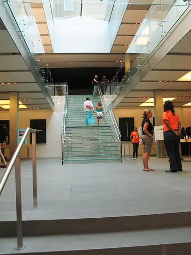Inside the Apple Store, Soho