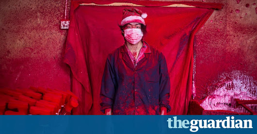 Santa's real workshop: the town in China that makes the world's Christmas decorations | Art and design | The Guardian