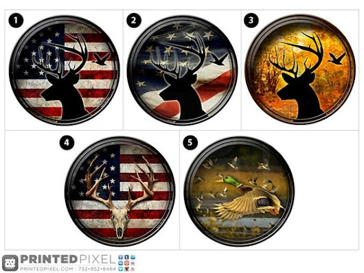 Hunting Decals Deer and Pheasant Reflective by PrintedPixel