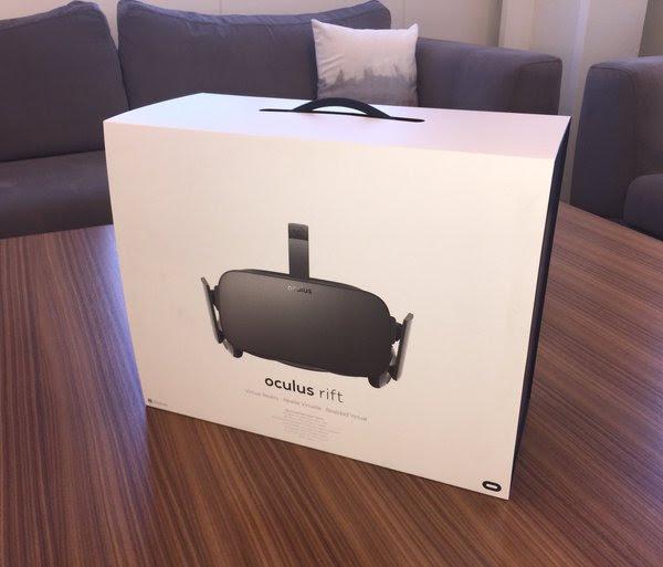 Oculus Rift shipped
