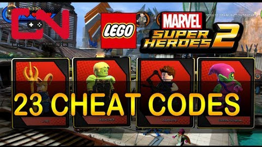 LEGO Marvel Super Heroes 2 - All 23 Cheat Codes & Showcase ...