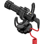 Rode VideoMicro Compact Directional On-Camera Microphone, Black