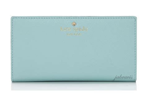 Kate Spade ? CY Blue Saffiano Leather Mika 039 S Pond