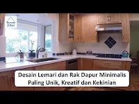 Rak dapur minimalis - lemari dapur minimalis unik dan kreatif