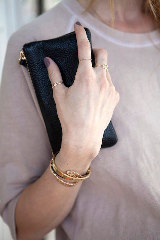 LE FASHION BLOG DELICATE AND SIMPLE DETAILS DANISH DESIGNER ANINE BING VIA MAMA BLOG DUSTY ROSE CROPPED SWEATSHIRT DAINTY RINGS MIDI RINGS HEART RING SMALL BLACK TEXTURED LEATHER ZIP POUCH WALLET CARTIER LOVE BRACELET WRAP GOLD BRACELET STACKED BRACELETS 2 photo LEFASHIONBLOGDELICATEANDSIMPLEDETAILSANINEBINGVIAMAMABLOG2.jpg