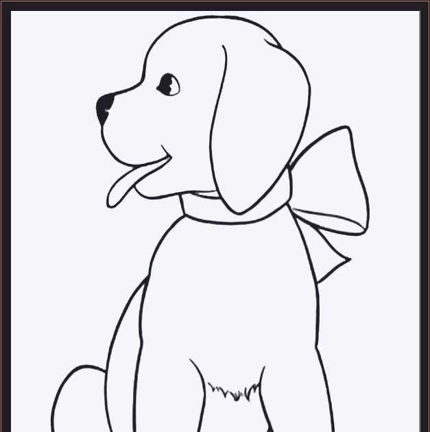 ausmalbilder kostenlos tiere hunde  charles lay grundschule