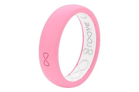 Groove Silicone Wedding Band   Punchy Pink   Groove Life