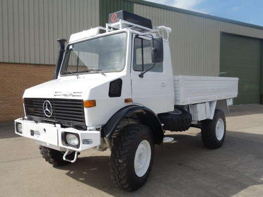 Mercedes Unimog U1300L 4x4 Drop Truck with A/c for sale | MOD direct sales| LJackson and co ltd