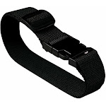Lewis N Clark Add a Bag Luggage Straps (Pack of 3) - Black one size
