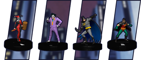 Dc Comics Heroclix Batman The Animated Series