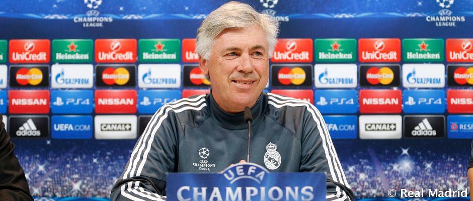 Rueda de prensa de Ancelotti