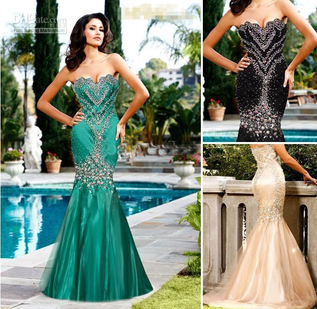 Summer evening dress 2012