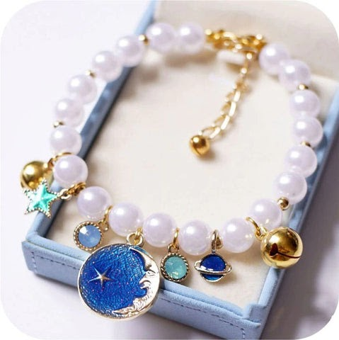 Pet princess chain necklace