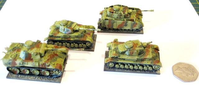German tanks 15mm scale camouflage