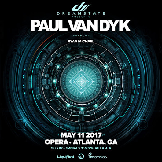 Discount Pre-Sale Tickets for Paul Van Dyk at Opera Atlanta - May 11th, 2017 - Use Promocode SINNER