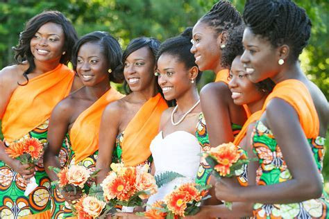 African Print Bridesmaid Dresses   My Favorite Clothes in