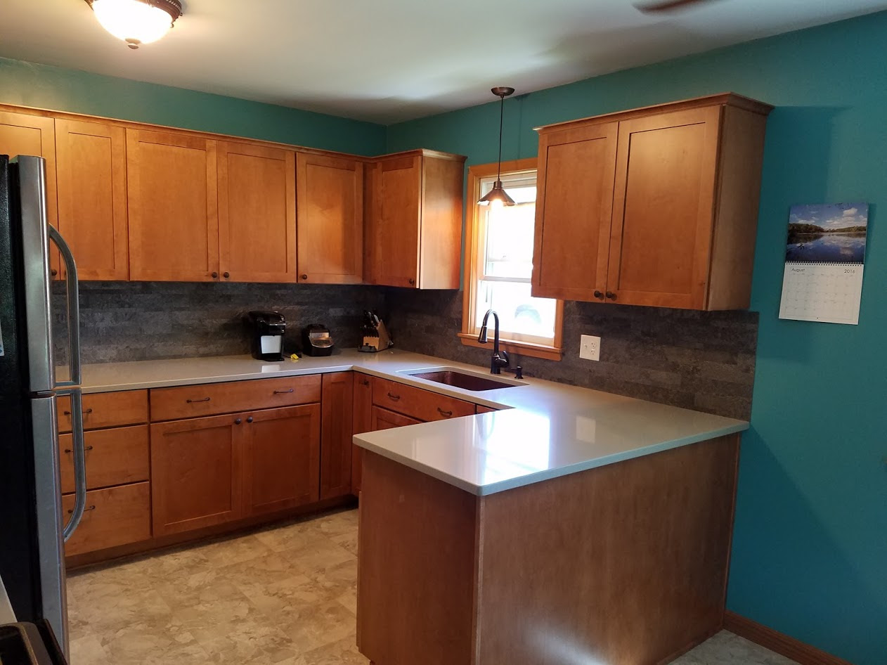 18 Kitchen Countertops And Cabinets