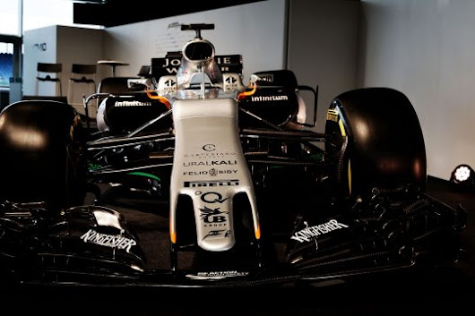 Force India reveal their 2017 car