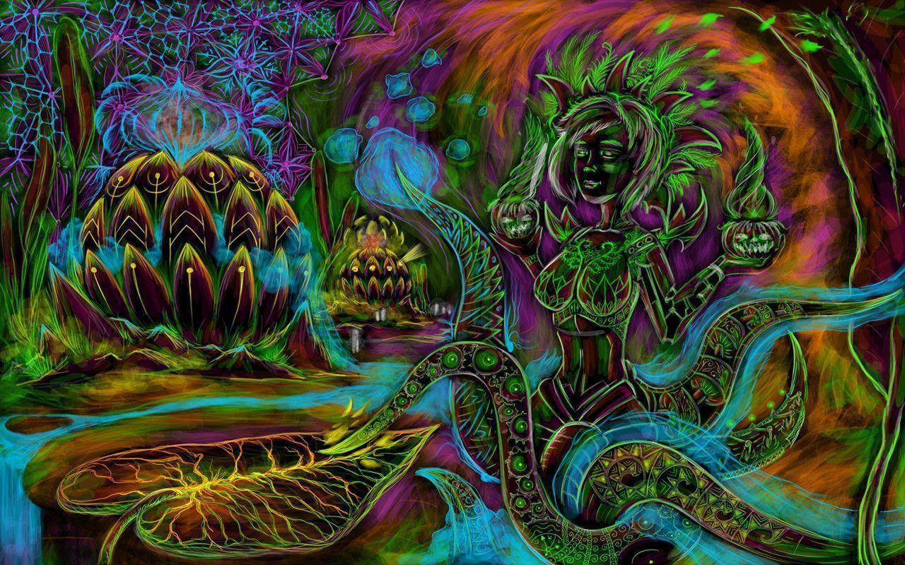 Psychedelic Art Wallpapers - Wallpaper Cave