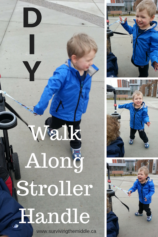 DIY Walk Along Stroller Handle