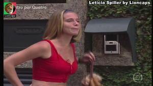 Leticia Spiller sensual na novela 4 por 4