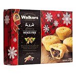 Holiday Mini Mincemeat Tarts - 1 Box, 6 Pieces - 13.1 Ounce (Pack of 2) By British Food Supplies