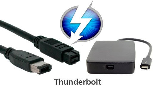 Thunderbolt 3 With Firewire 400 & 800 Adapters - The Pro Tools PC