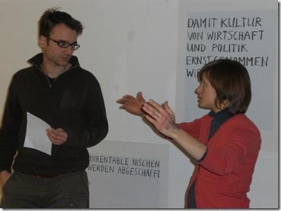 Lukas Zimmer und Miriam Sturzenegger