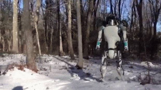 Google's new human-like robot