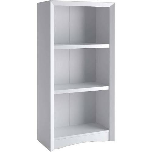 CorLiving Quadra - Bookcase - 2 shelves - white